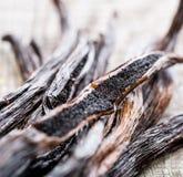 Vanilla pods Stock Photos