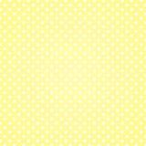 Vanilla Polka Dots Background stock illustration