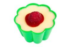Vanilla pudding Stock Image