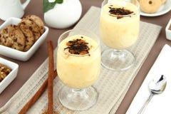 Vanilla pudding Royalty Free Stock Images
