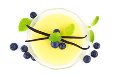 Vanilla pudding Royalty Free Stock Images