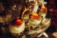Vanilla Rice Pudding Stock Photo