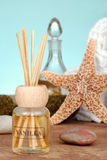 Vanilla scent reed diffuser Stock Images