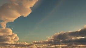 Vanilla sky Royalty Free Stock Image
