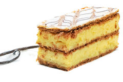 Vanilla slice Stock Image