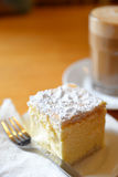 Vanilla Slice. World`s Best Vanilla slice in Ross Village Stock Photography