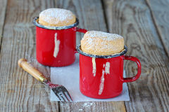 Vanilla souffle Stock Images