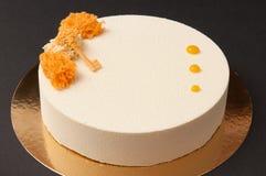 Vanilla sponge stock image
