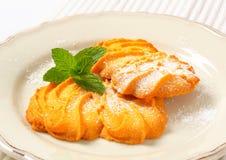 Vanilla Spritz cookies Royalty Free Stock Image