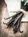 Vanilla sticks Stock Images