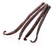 Vanilla sticks. On white background Stock Image