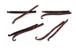 Vanilla sticks. On white background Stock Photo