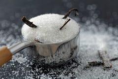 Vanilla sugar Stock Images