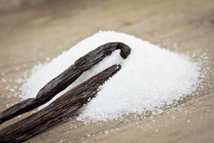 Vanilla sugar Royalty Free Stock Photos