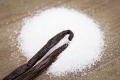 Vanilla sugar Stock Photos