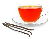 Vanilla tea Royalty Free Stock Photography