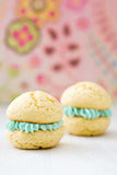 Vanilla whoopie pies Royalty Free Stock Photography