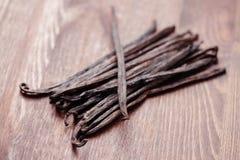 Vanille-Bohnen Lizenzfreies Stockbild