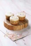 Vanille cupcakes Royalty-vrije Stock Fotografie