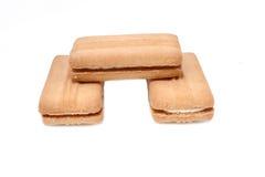 Vanille de biscuit Photographie stock