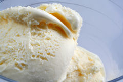 Vanille-Eiscreme Stockfotos