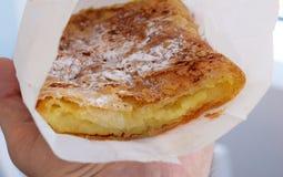 Vanille-Kuchen stockbild