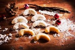 Vanille-Plätzchen Stockfoto