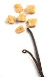 Vanille-suiker bloem Stock Afbeeldingen