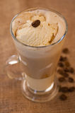 Vanillekaffee Lizenzfreie Stockfotos