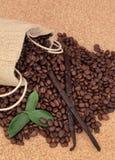 Vanillekoffie Royalty-vrije Stock Afbeeldingen