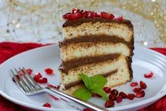 Vanillekuchen Lizenzfreie Stockbilder