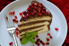 Vanillekuchen stockbild