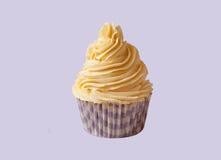 Vanilleroom cupcake Stock Afbeeldingen