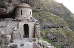 Vanis Kvabebi. Ancient cave monastery in Georgia Stock Photography