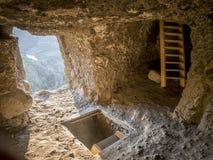 Vanis Kvabebi Cave Monastery Royalty Free Stock Images