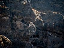 Vanis Kvabebi grottakloster i den Samtskhe-Javakheti regionen av Georgia Fotografering för Bildbyråer