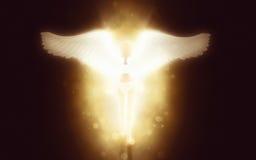 Vanishing Angel Illustration Stock Photo