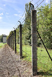 Vanishing line in Dachau Stock Photo