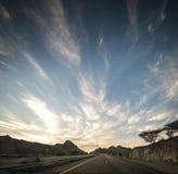 Vanishing road Stock Photo