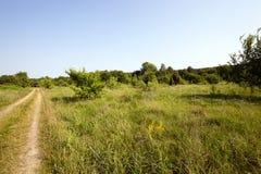 Free Vanishing Rural Road Stock Photography - 61133382
