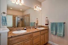 Vanité de salle de bains Images stock