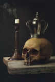 Vanitas Life, death and resurrection Royalty Free Stock Photography