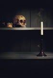 Vanitas Life, death and resurrection Royalty Free Stock Image