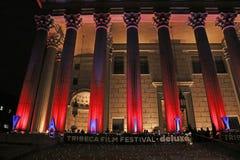Vanity Fair va de fiesta para el festival de cine de 14 Tribeca Foto de archivo