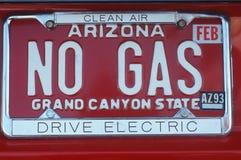 Vanity License Plate - Arizona Stock Photo