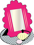Vanity Mirror Royalty Free Stock Photo