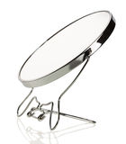 Vanity mirror on a white background Royalty Free Stock Photos