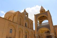Vank亚美尼亚大教堂在伊斯法罕,伊朗 免版税图库摄影