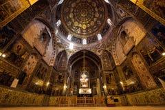 Vank大教堂,伊斯法罕,伊朗 免版税图库摄影