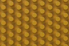 Vanlig gul yttersida med cylindrar Royaltyfria Bilder